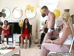 They are all trying to out do each other in daring to do the boldest thing in the public. They are no longer content with simple blowjob or even deep throating the monster penises. they want a much deeper and more satisfying experiences. They want to tease the cock and in return get teased by man.