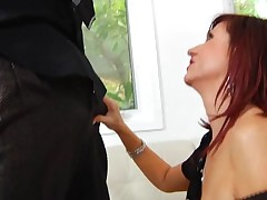 Hungry older is eager to get throat and whoppers screwed hard